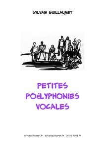 couverture recueil poélyphonies en boucle