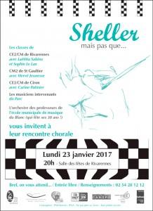 Rencontre chorale _Sheller, mais pas que_ - lundi 23 janvier - 20h Rivarennes